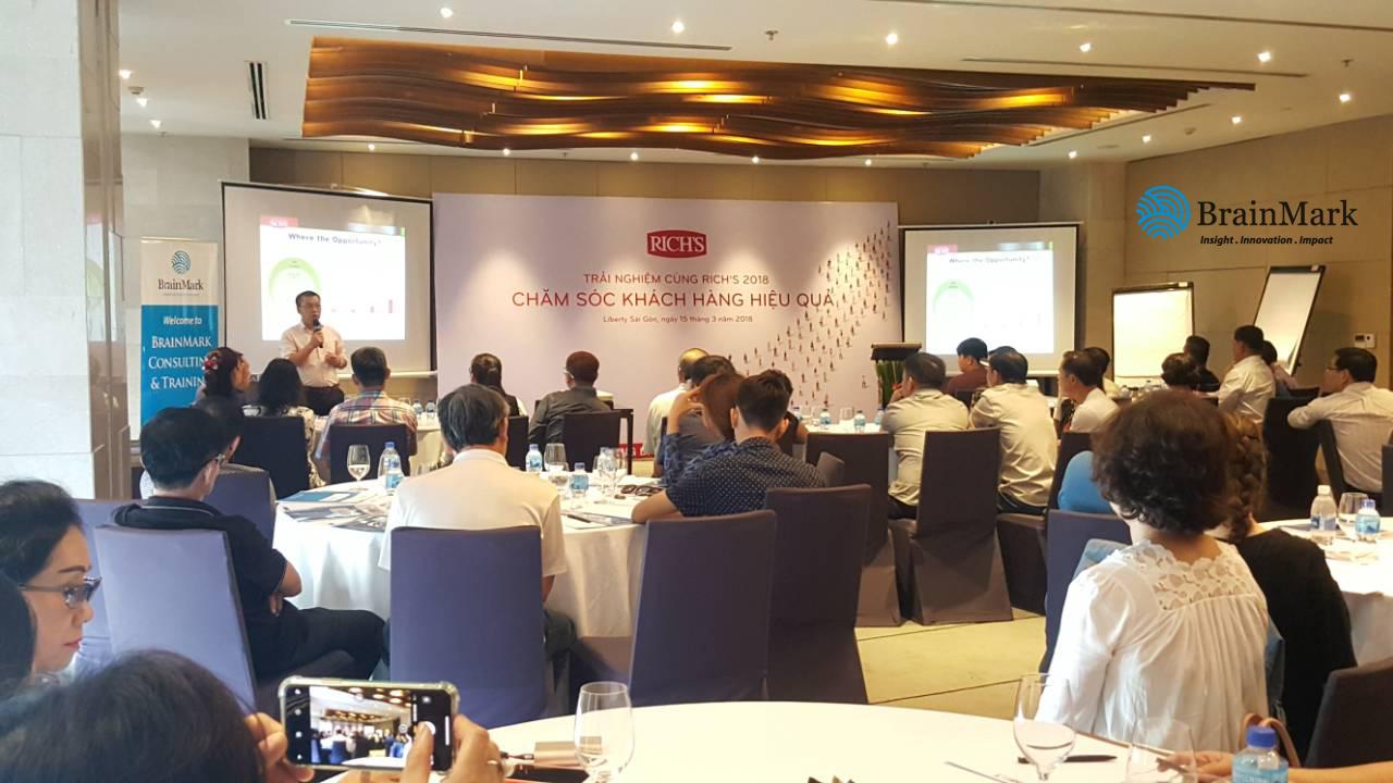 Đào tạo Kỹ năng Chăm sóc khách hàng tại Rich Products Vietnam