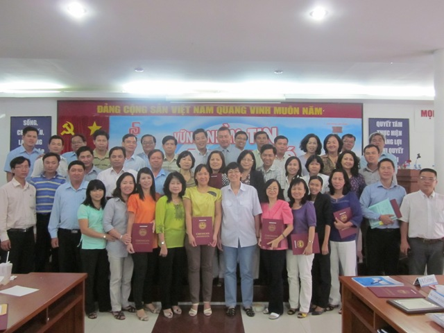 Đào tạo Quản trị chăm sóc khách hàng tại Saigon Co.op