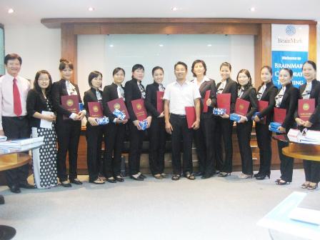 Đào tạo theo chuyên đề tại Công ty BĐS Nam Long