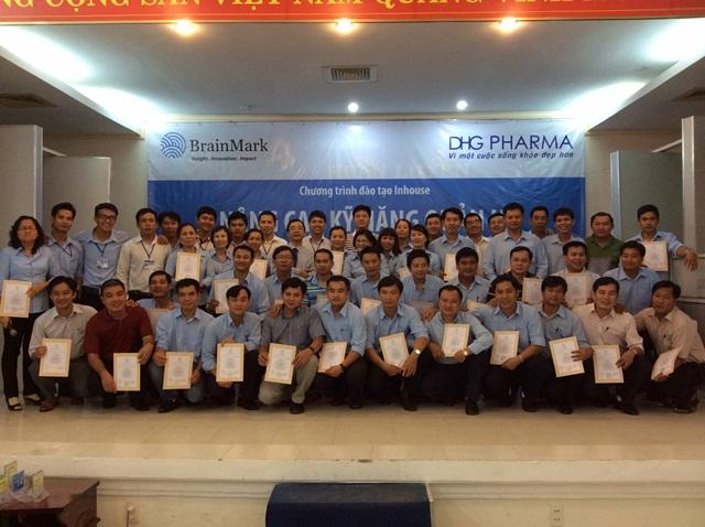 Đào tạo Nâng cao kỹ năng quản lý kinh doanh tại Dược Hậu Giang