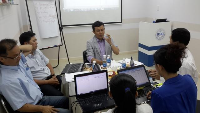 Đào tạo Lập kế hoạch kinh doanh năm cho lãnh đạo doanh nghiệp