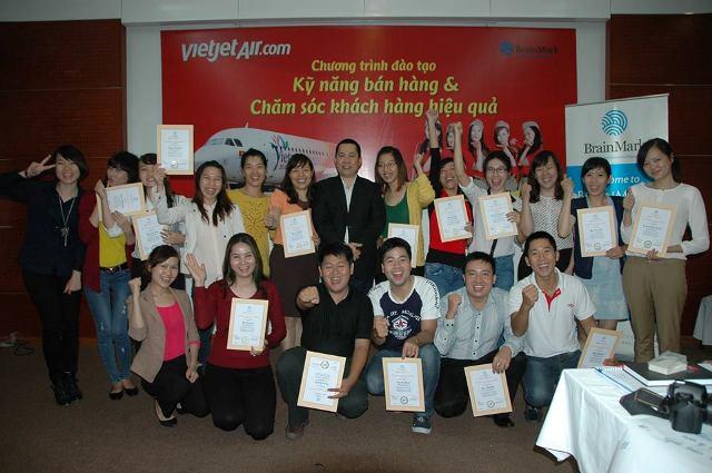 Đào tạo Kỹ năng Bán hàng & Chăm sóc khách hàng tại Công ty CP Hàng không VietJet