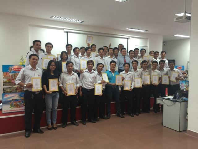 Đào tạo Quản lý và Giám sát bán hàng hiệu quả tại Acecook Vietnam