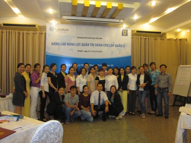 Đào tạo Nâng cao năng lực quản trị cấp quản lý tại SJC