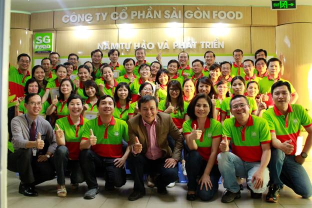 Đào tạo Tư duy và kỹ năng lập quản lý hiệu quả dành cho cấp quản lý cho Saigon Food
