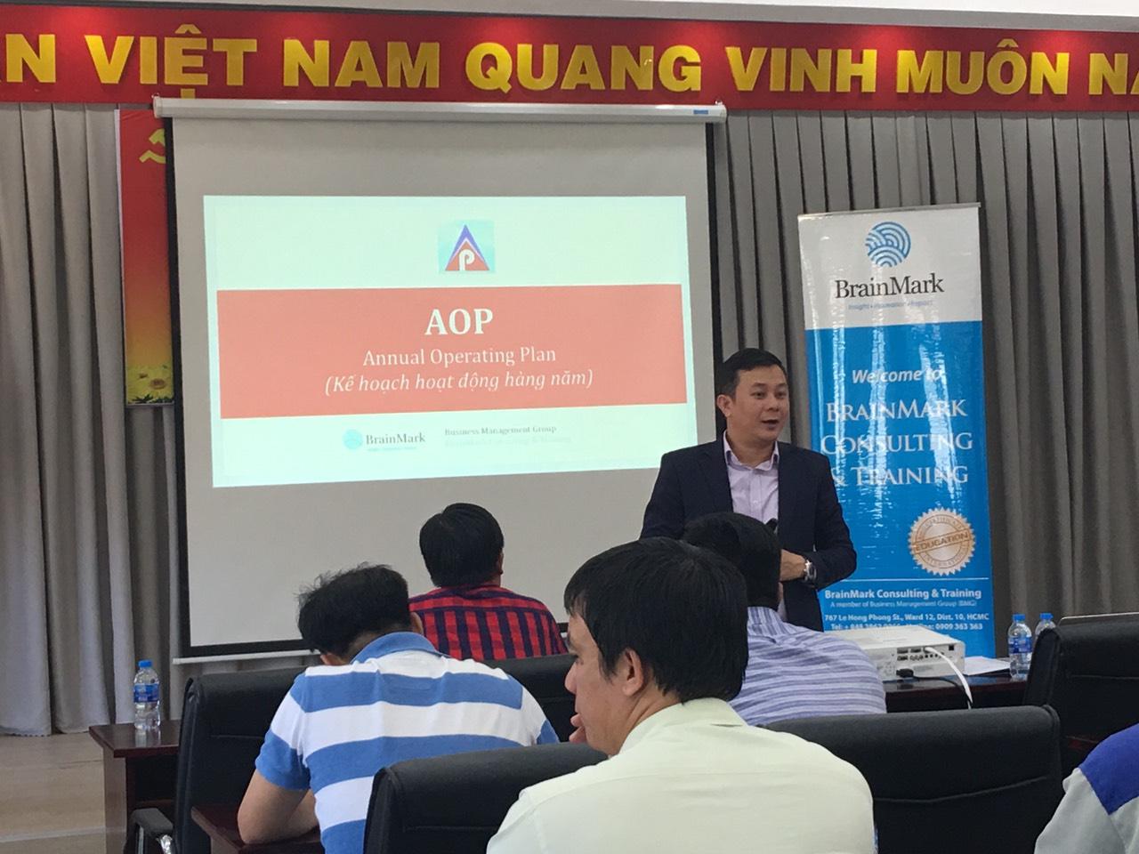 Tư vấn Kế hoạch kinh doanh hàng năm – AOP tại Phước Hoà Fico