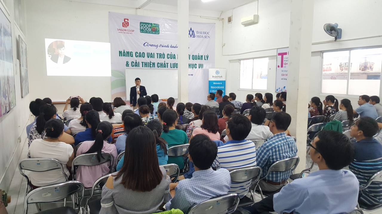 Đào tạo Truyền Thông trong thời đại 4.0 tại Saigon Co.op