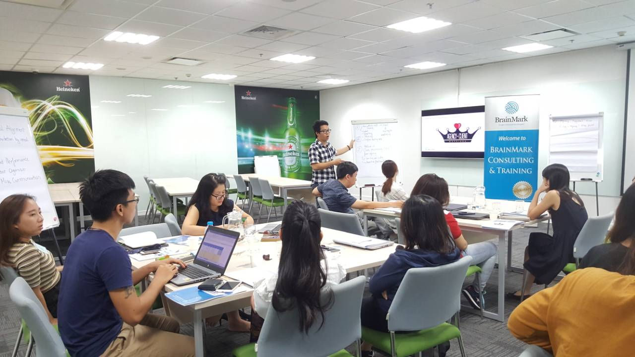 Skills Training to become a professional Project Manager for Heineken Vietnam